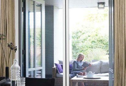 Spiegel Zonwering Utrecht : Plissé deuren spiegel zonwering